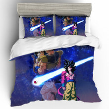Duvets And Linen Sets Cotton Bedding Dragon Ball Duvet Cover Bed Sheets Pillowcases King Size Set Home