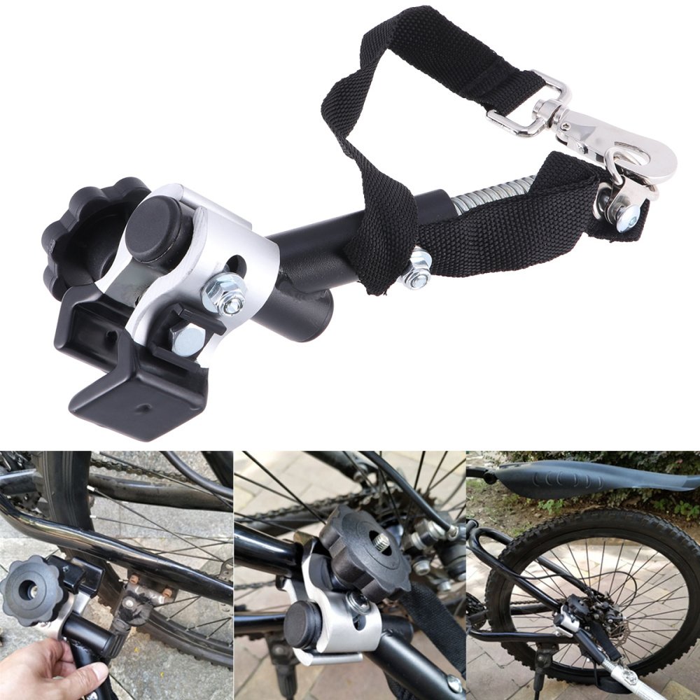 Universal Bicycle Bike Trailer Coupler Attachment Hitch Steel Linker Connector