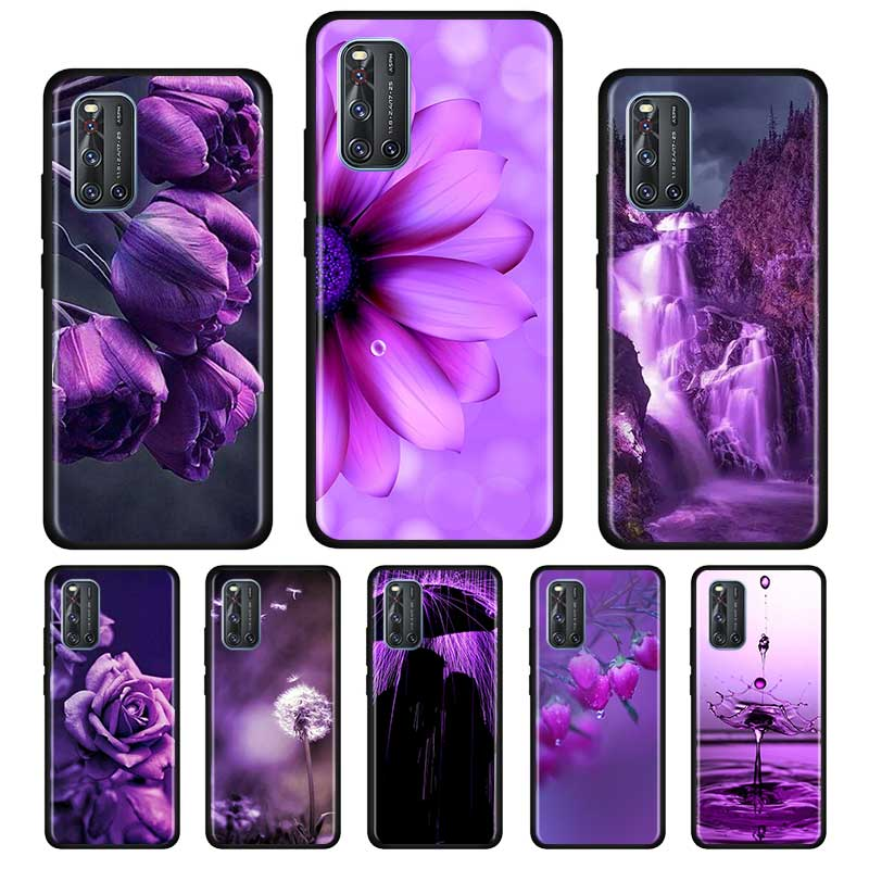Infinity On Purple Silicone Soft Case For Vivo S1 Y15 Pro Y12 Y17 Y19 Y30 Y50 V19 Z6 5G Iqoo Z1 3 5G Case Shell