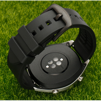 18mm Sport Rubber Strap for Xiaomi MI Smart Watch Band for LG watch style quick release watchband for ASUS zenwatch 2 Bracelet