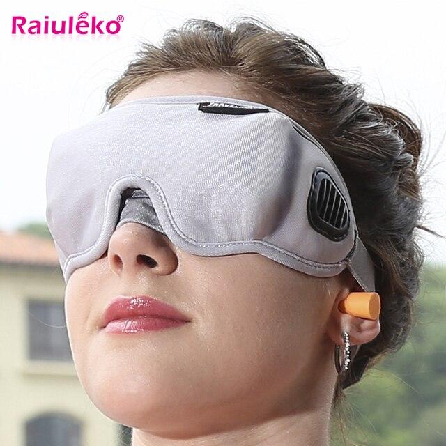 High-Grade Fabric EyeShade Portable Sleeping Eye Mask Eyepatch Padded Shade Cover Eye Mask Night Rest Blindfold Sleep Bandage