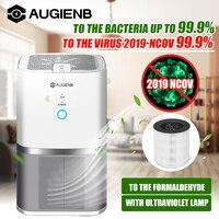 AUGIENB Air Purifier ionisator Echter Hepa Filter  Geruch Allergien Eliminator für Raucher  Staub  Form  formaldehyd Hause Haustiere Reiniger-in Luftreiniger aus Haushaltsgeräte bei