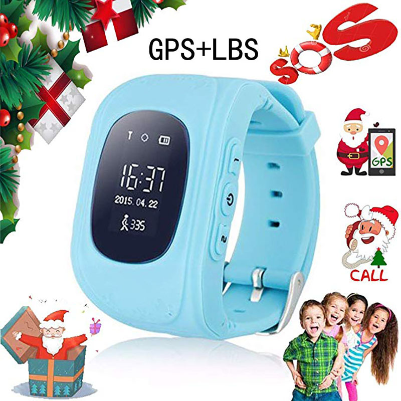 <font><b>Q50</b></font> Kids Smart Watch OLED Anti Lost <font><b>GPS</b></font>+LBS Tracker SOS Smart Monitoring Positioning Smart Watches for Children for IOS &Android image
