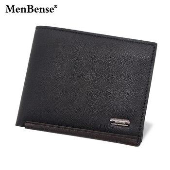 MenBense Men's Wallet High Quality Luxury Short Wallet PU Leather Men's Wallet Coin Wallet Men's Card Bag Casual Fashion Wallet фото