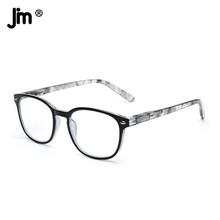 JM kobiety mężczyźni zawias sprężynowy okulary do czytania Retro lupa dioptrii okulary do czytania dla osób starszych tanie tanio Przeciwodblaskowe WOMEN Unisex Jasne Z tworzywa sztucznego CN (pochodzenie) ZTPL0042 40cm 50cm Spring Hinge