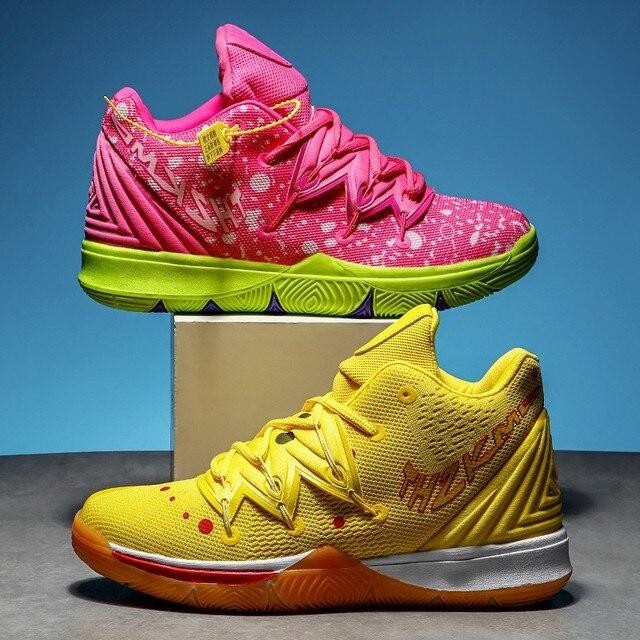 Zapatillas de deporte de alta calidad para hombre y mujer, Zapatos de baloncesto transpirables de malla, deportivas de superestrella para parejas 1