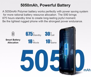 Image 3 - Doogee teléfono inteligente S90, teléfono móvil resistente IP68/IP69K, carga rápida, pantalla 19:9 de 6,18 pulgadas, batería de 5050mAh, Octa Core, 6GB RAM, 128GB rom, Android 8,1, soporta NFC