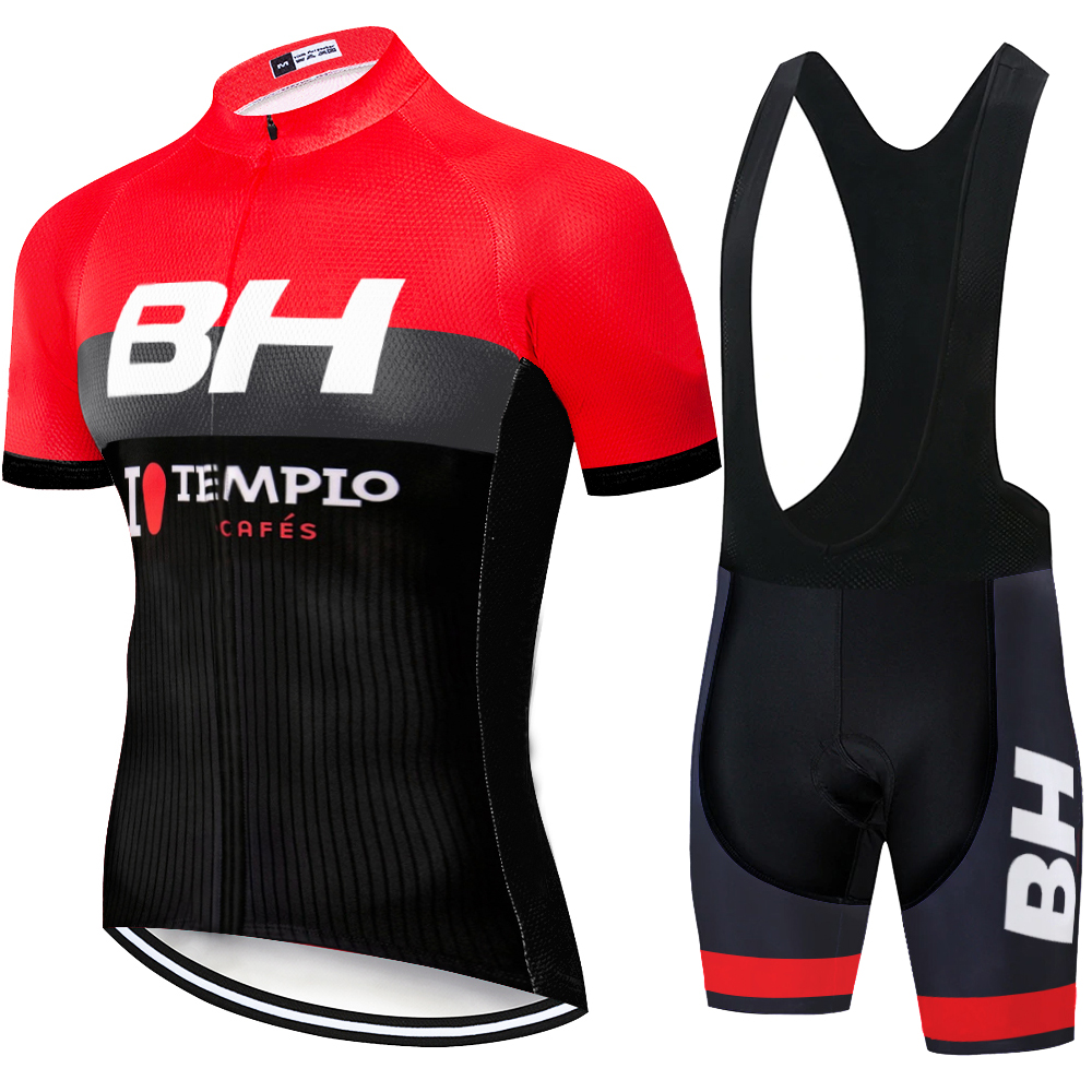 2020 BH TEAM Cycling Bib Shorts Mountain Bike Breathable Men's Culote Ciclismo Hombre Gel 20D Pad Licra Ciclismo Shorts