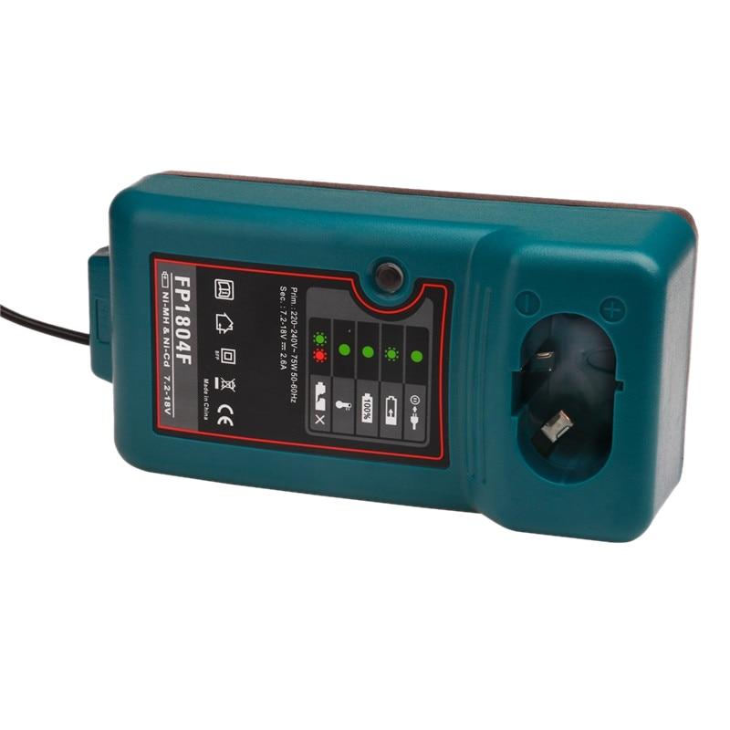 TOP Battery Charger For MAKITA Electric Drill Screwdriver Accessories 7.2V 9.6V 12V 14.4V 18V DC1804 DC1414T DC1414F 9100A EU Pl
