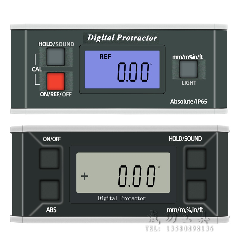High Precision Digital Display Inclinometer Pro360 Digital Display Horizontal Ruler Waterproof Digital Display Angle Meter