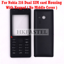 HKFASTEL High Quality Housing keyboard For Nokia 216 Dual SIM