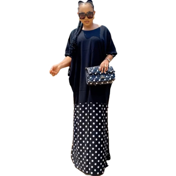 Summer African Dresses For Women 2020 Dashiki African Dress Plus Size Ladies Traditional Clothing Fairy Dreams Long Maxi Dresses image
