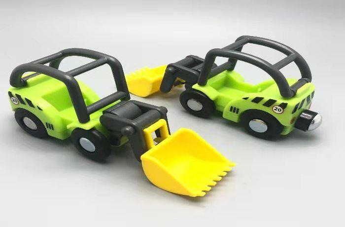 EDWONE деревянный магнитный Поезд Самолет деревянная железная дорога вертолет автомобиль грузовик аксессуары игрушка для детей подходит Дерево Biro треки подарки - Цвет: 1PCS B