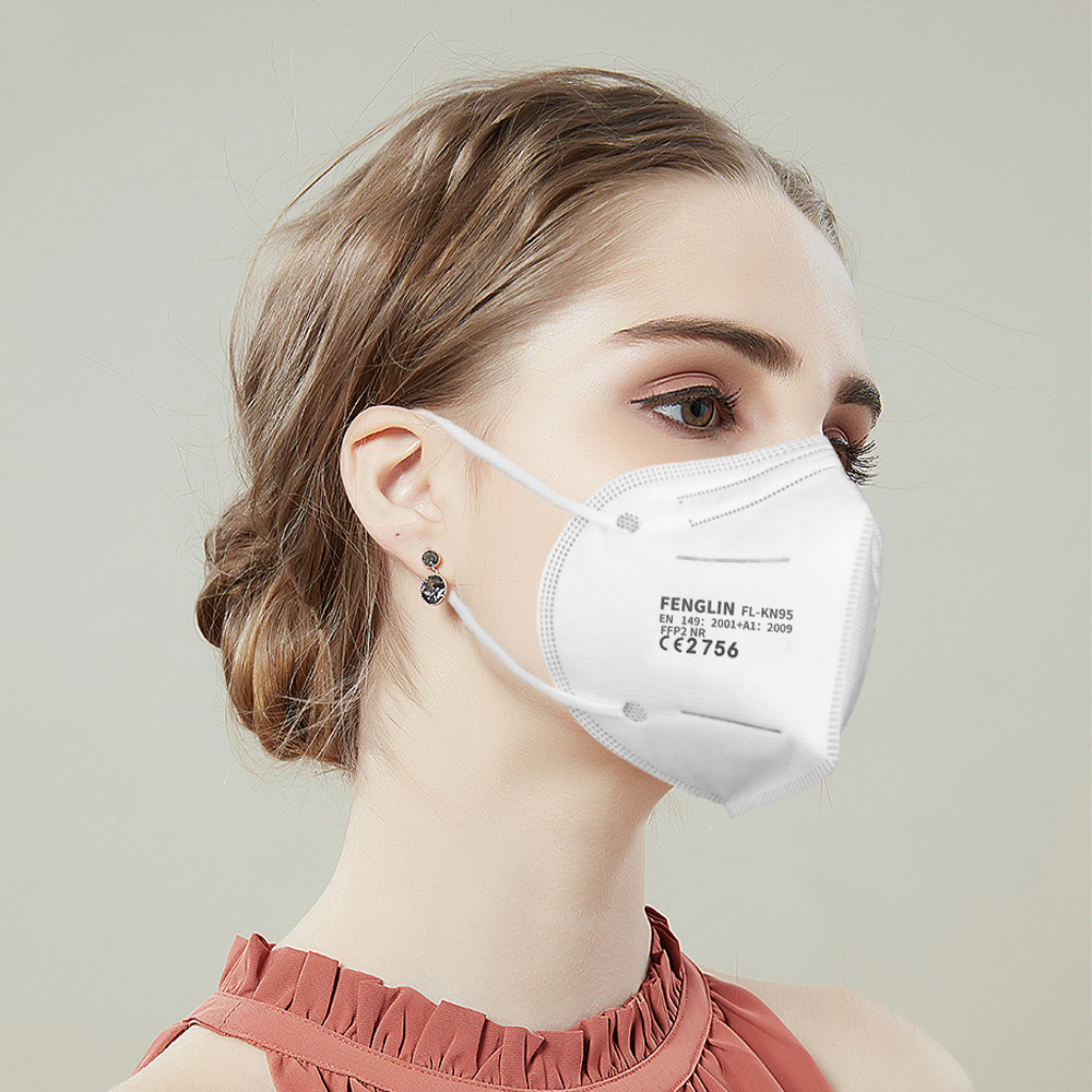 FFP2 Mask Five-layer Protective Mask Anti-spitting Anti-dust haze Fast Delivery Shipping from Spain Poland