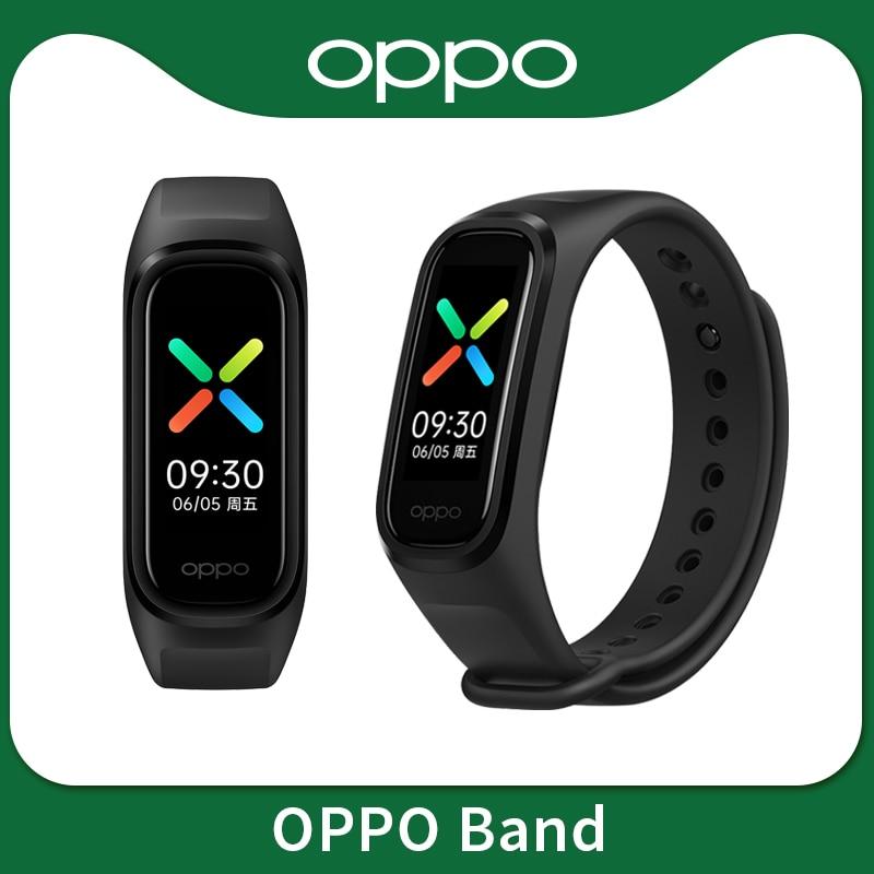 Смарт-браслет realme OPPO Band, спортивный водонепроницаемый фитнес трекер с AMOLED экраном, 2 цвета, Bluetooth