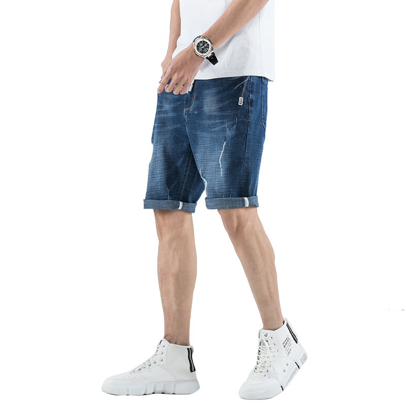 DEE MOONLY 2020 New Fashion Summer Short Jeans Trousers For Men Hot Sale Casual Men Shorts Denim Shorts Plus Size 28-36