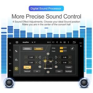 Image 3 - Isudar 2 Din Auto Radio Android 9 For Nissan/Xtrail/Tiida/Hyundai/KIA Universal RAM 4GB Car Multimedia Video Player GPS DVR FM