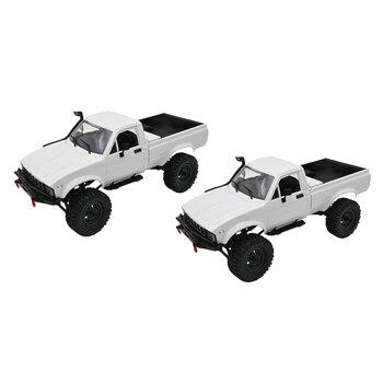 Maßstab 116 RC Militär Fahrzeuge Modell 4WD 2,4G High Speed Fernbedienung Lkw Selbst Montiert Spielzeug für Jungen Kinder teens