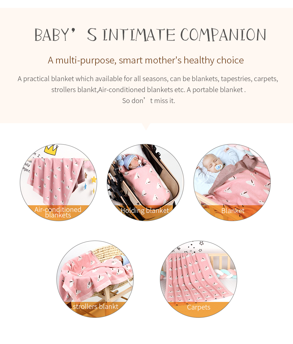 Cobertores do bebê super macio da criança