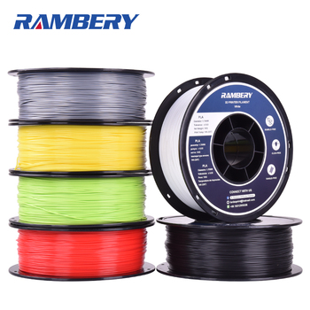 PLA 3D Printer Filament 1.75 ABS PLA 1.75 Filament White Black Dimensional Accuracy +/- 0.05 mm, 1kg (2.2LBS) / Spool image