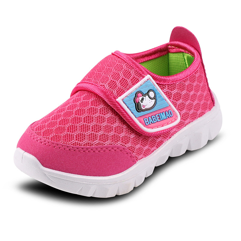 Summer Kids Shoes Breathable Mesh Sneakers Boys Shoes Outdoor Girls Flats Casual Shoes Children Walking Footwear Tenis Infantil