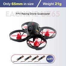 Eachine UZ65 65mm 1S Whoop Dron de carreras con visión en primera persona Quadcopter w/ RunCam 3 Cámara 5,8G 25mw ~ 100mw VTX SE0802 19000KV Motor sin escobillas