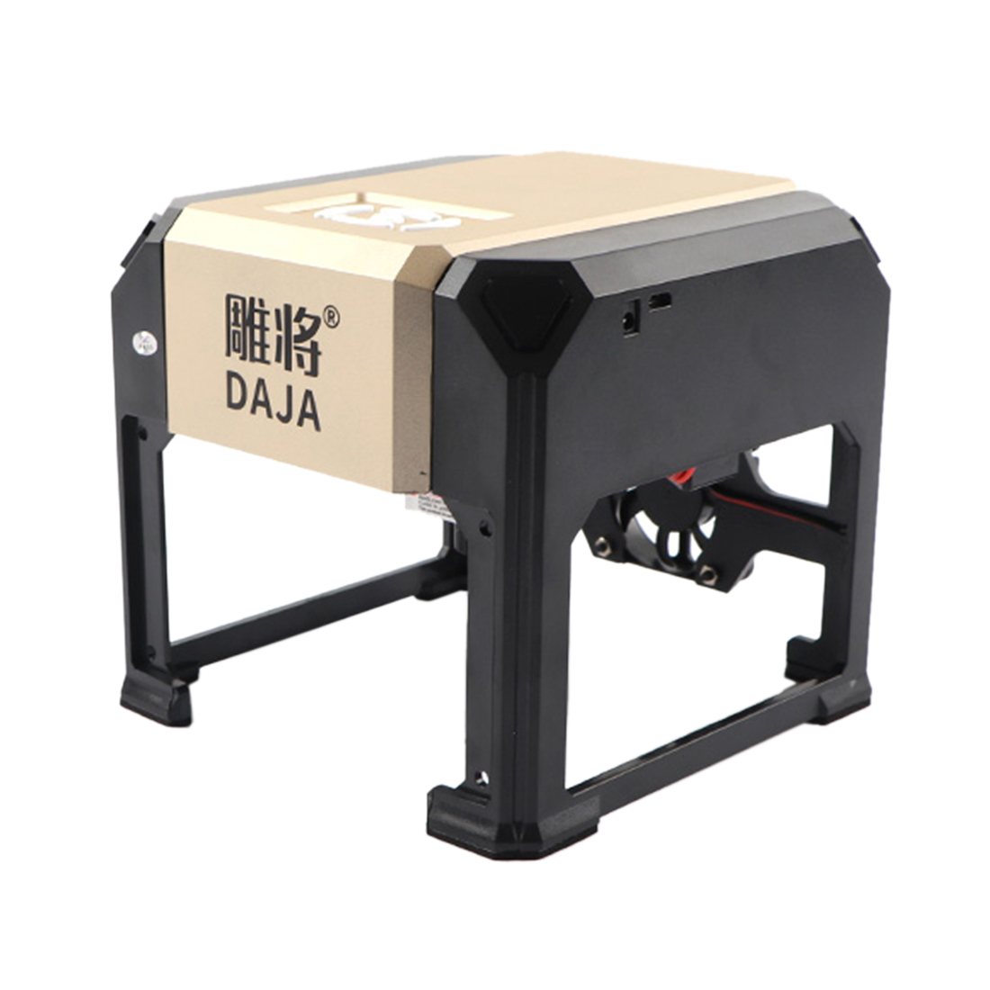 K5 3000mW DIY Mini Laser Engraver Mark Printer Laser Engraving Machine Education Christmas Birthday Gift-UK Plug/US Plug/EU Plug