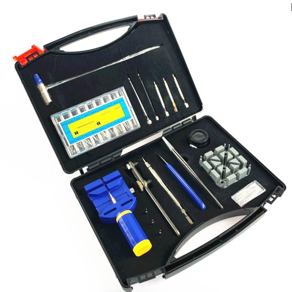 288pcs/set Watchmaker Tools Watches Repair Screwdriver Elegant Watch Case Holder Opener Remover Comfortable Element