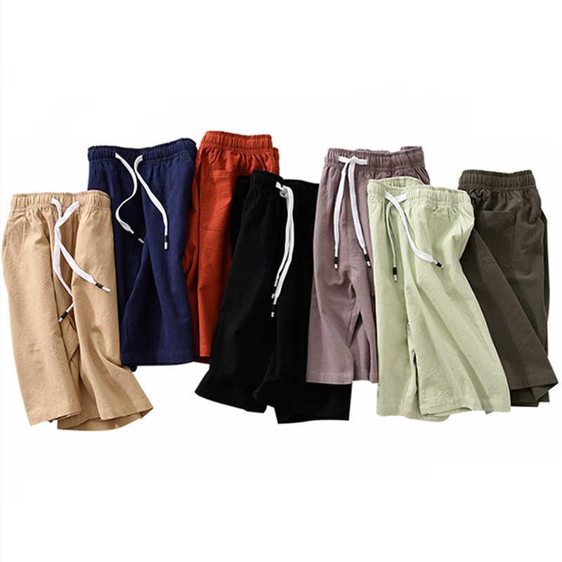 Calções de verão dos homens casuais correndo shorts de alta qualidade marca algodão masculino calças curtas plus size 4xl 5xl praia shorts roupas masculinas