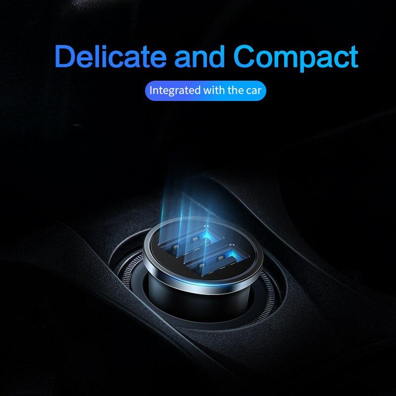 Image 5 - Автомобильное зарядное устройство SmartDevil, USB, 4,8 А, мобильный телефон, 2 USB порта, быстрая зарядка для iPhone, Samsung, планшета, автомобильное зарядное устройствоЗарядные устройства    АлиЭкспресс
