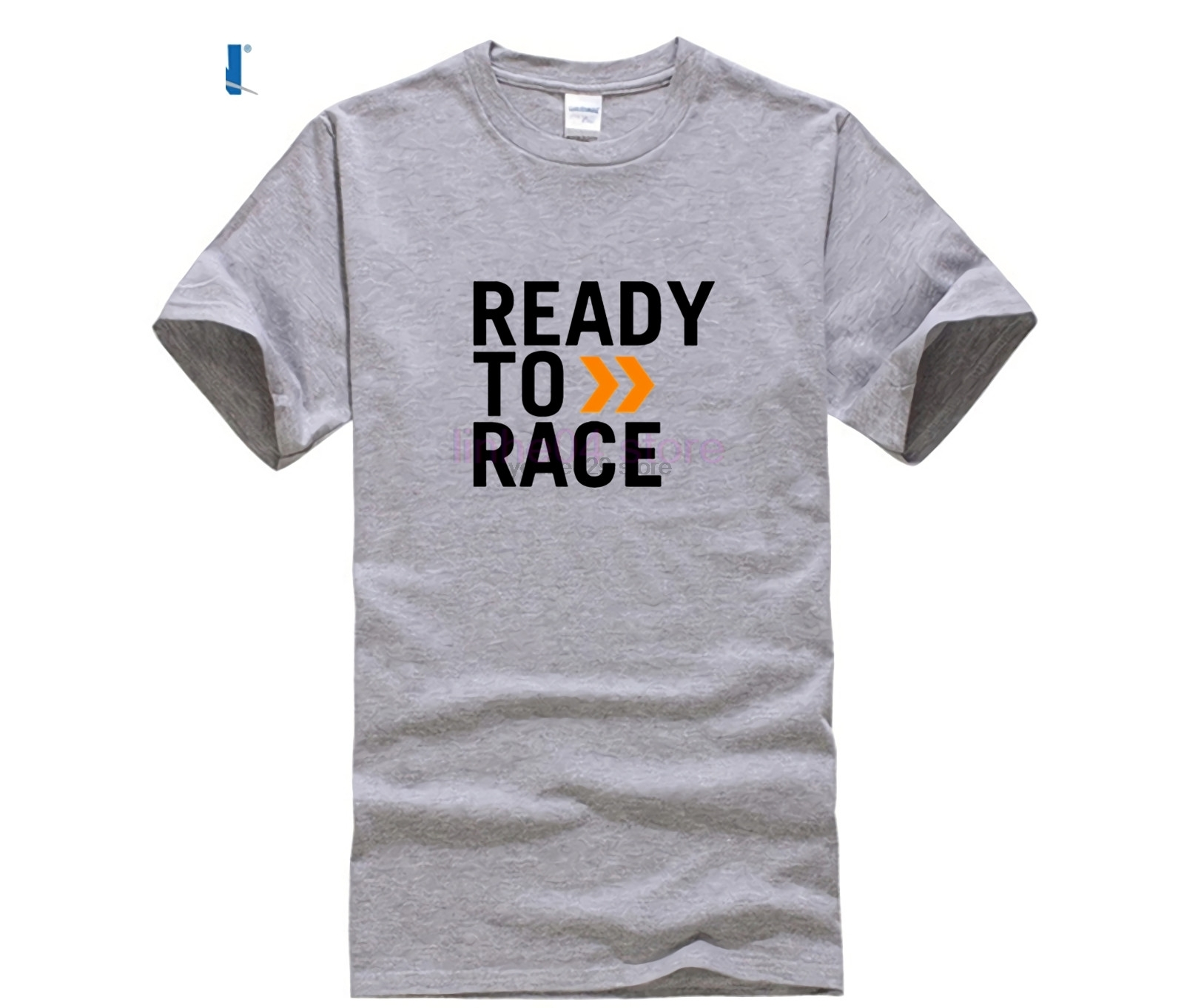 2019 design Mens T-Shirt Ready to Race tshirt Pure Cotton Clothing Punk tshirt Letter Art printed Tee Casual T Shirt Man Website image