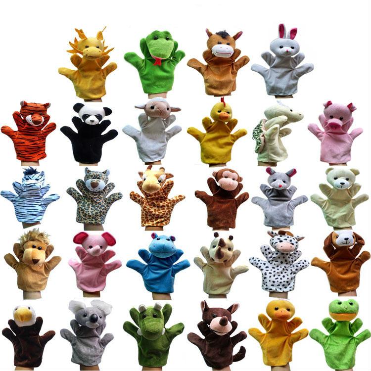 27 Kind Big Hand Puppet Animal Plush Doll f…