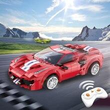 24g Радиоуправляемый автомобиль строительные блоки 306 шт высокотехнологичные