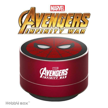 ZEKI Marvel Genuine Wireless Bluetooth Speaker Iron Man American Captain Car Subwoofer Computer TF Card Outdoor