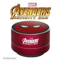 ZEKI Marvel Genuine Wireless Bluetooth Speaker Iron Man American Captain Car Subwoofer Computer TF Card Speaker Outdoor Speaker