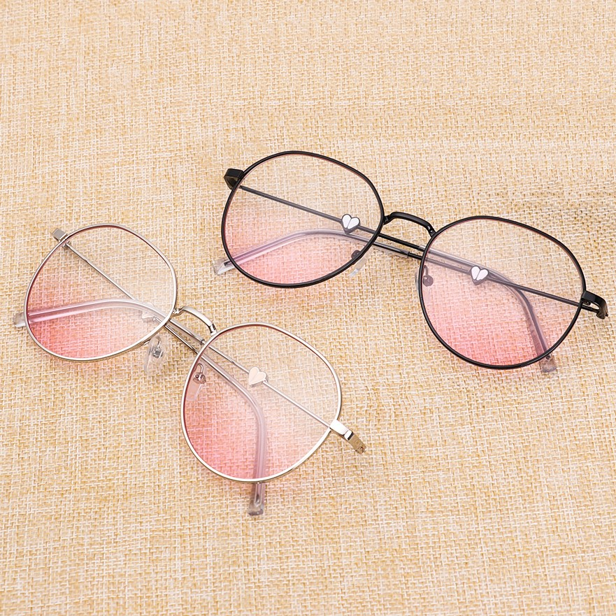 Anti Blue Ray Reading Glasses Women Men Metal Round Myopia Glasses Nearsighted Eyeglasses 0 -1 -1.5 -2 -2.5 -3 -3.5 -4 -4.5 -5.0