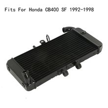цены CB 400SF Motorcycle For Honda CB400 SF 1992-1998 Old model Motorcycle Cooling Replacement Water Tank Radiator Cooler CB 400 SF
