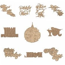 Hot Foil Plate glimmer Copperplate Holiday Festival Greeting Phrases for DIY Scrapbooking  New 2019 Embossing Paper Cards Crafts