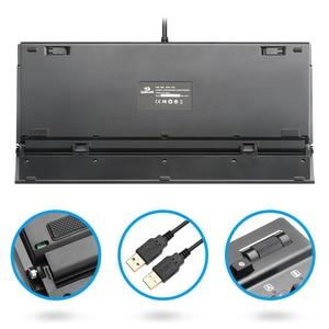 Image 4 - Redragon K550 Aluminum USB Mechanical Gaming Keyboard Rgb Red Purple Switch Diy Ergonomic Key Backlit Anti Ghosting PC Pro Gamer
