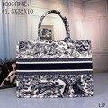 With logo Bags for women handbag High capacity fashion Shopping Bag handbag Shoulder bag Tote Variety of colors Canvas printing
