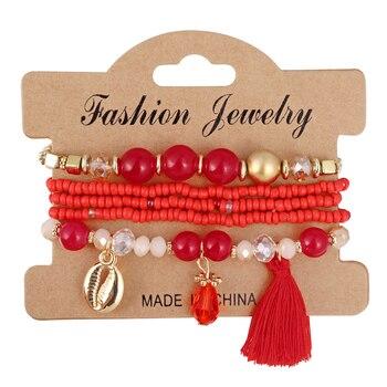 Women's Boho Style Stone Charm Bracelet Bracelets Jewelry New Arrivals Women Jewelry Metal Color: SL1512