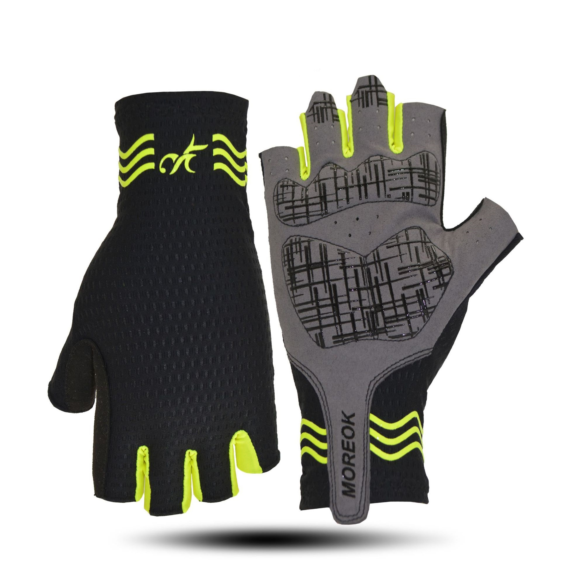Cycling Bike Half Finger Gloves Shockproof Breathable MTB Road Bicycle Gloves