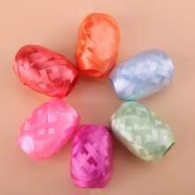 Cinta de plástico para globos, 6 rollos para globos, embalaje de regalo, cintas de Navidad para boda, cintas para fiesta, 0,5 cm de ancho, 10m