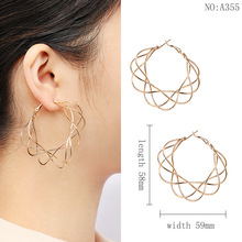 European and American new fashionable earrings for womens apparel accessories Earrings