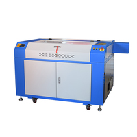 100W CO2 USB Laser Engraving Cutting Machine 900x600mm Engraver Cutter Wood working & WITH ROTARY AXIS hot