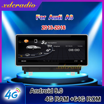 Xdcradio 10.25 inch Android 9.0 For Audi A3 Car Radio Automotivo Car Multimedia Player Auto GPS Navigation 4G Stereo 2013-2016 image