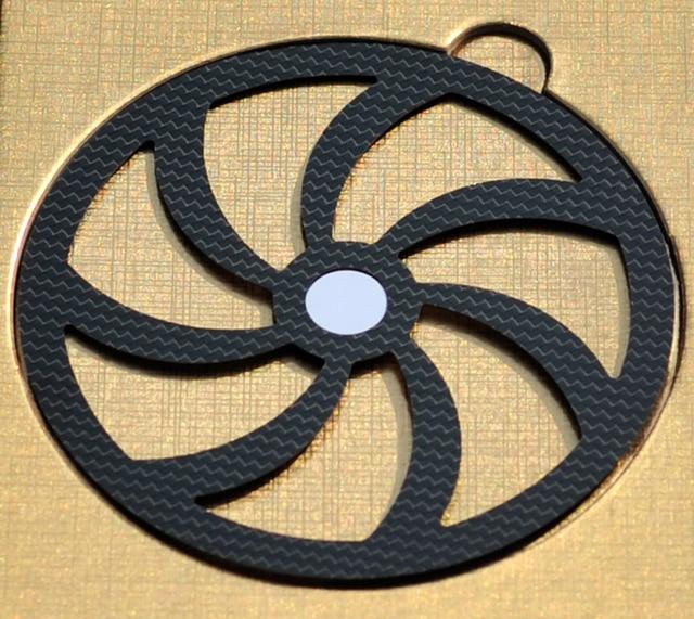 CDMAT CD Companion Carbon Fiber Disc Tuning Pad for CD Disc HIFI Audio Free Shipping
