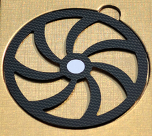 CDMAT CD Companion คาร์บอนไฟเบอร์แผ่นปรับ Pad สำหรับแผ่น CD HIFI Audio จัดส่งฟรี