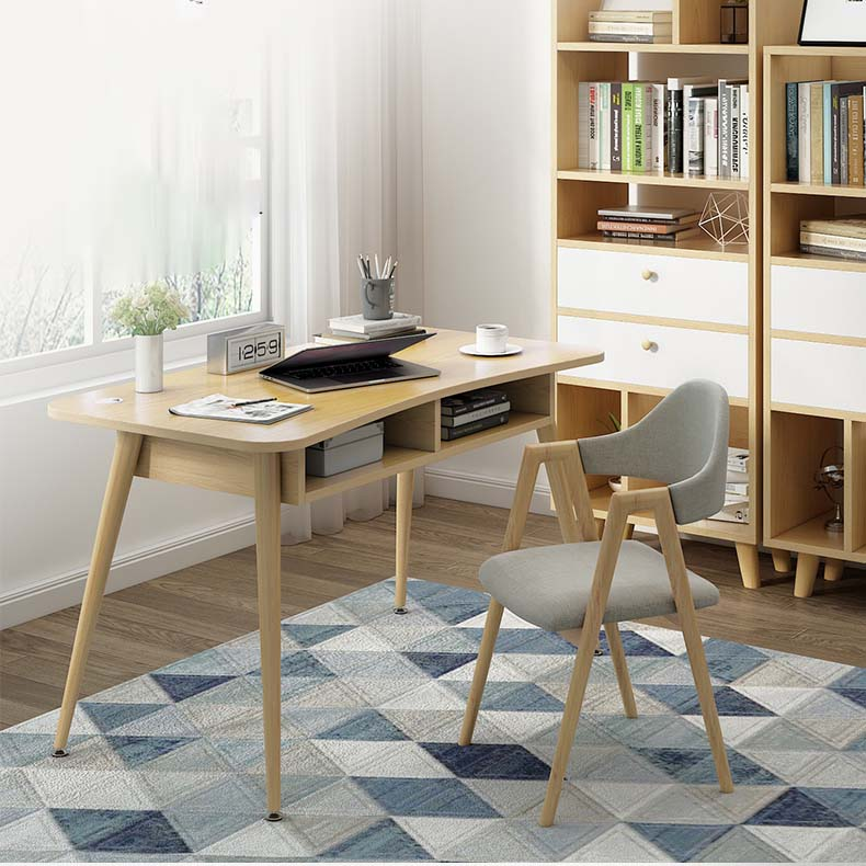 Nordic Computer Desk Desk Home Simple Student Writing Desk Desktop Simple Solid Wood Small Table Bedroom Study Table