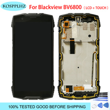 2160*1080 5.7 inç telefon LCD blackview bv6800 pro dokunmatik LCD ekran ekran meclisi bv 6800 cep telefonu aksesuarları